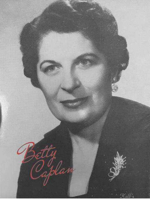 Photo Betty Caplan